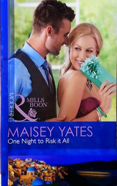 One Night To Risk It All By Maisey Yates (Mills and Boon novel; Romance Novels, First Night, Book Review, Couple Photos, Movies, Anonymous, Modern, Couple Shots, Trendy Tree