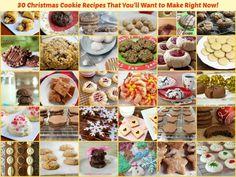 30 Gluten-Free Christmas Cookie Recipes All Gluten-Free Desserts Grain Free Vegan Paleo