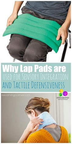 Why Weighted Lap Pads are used for Tactile Defensiveness and Sensory Integration | ilslearningcorner...