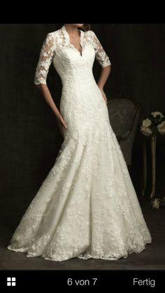 Schönes Hochzeitskleid :)
