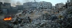 The U.N. says war crimes are likely to be found on both sides of the Gaza war. (Getty Images)