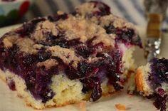 Blueberry Cake Recipe & Video - Joyofbaking.com *Video Recipe*