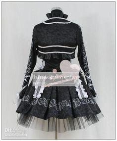 Wholesale Theme Costume - Buy Vampire Knight Kurosu Yuki Kuran Yuki Cosplay Costume Custom Any Size, $121.74 | DHgate