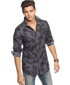 INC International Concepts Shirt, Dion Shirt - Mens INC Shirts - Macy's