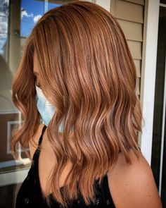 Ginger Brown Hair, Copper Brown Hair, Hair Color For Brown Eyes, Ginger Hair Color, Hair Color Auburn, Hair Color And Cut, Hair Dye Colors, Light Brown Hair, Cool Hair Color