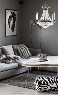 Livingroom, grey white and black Decor, Living Room, Furniture, Room, Interior, Living Room Bedroom, Home Decor, Interior Design, Coffee Table