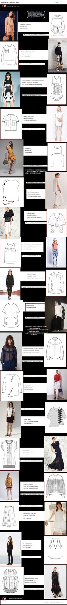 How the clothes look like as designed on paper and when sewn and worn. Flat Drawings, Flat Sketches, Technical Drawings, Clothing Patterns, Dress Patterns, Sewing Patterns, Fashion Flats, Diy Fashion, Fashion Design
