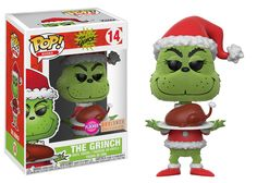 Vinyl Figure The Grinch [Dr. Seuss The Grinch] mischievous Grinch has been reimagined as an adorable Pop! From the classic Dr. Seuss tale How the Grinch Stole Christmas, there is even a rare chase figure for you t. The Grinch Book, Le Grinch, Grinch Stole Christmas, Grinch Stuff, Pop Vinyl Figures, Otaku, Pop Book, Dr Seuss, Funko Pop Dolls