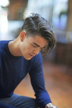 medium length hairstyles for men | Long undercut hairstyle…