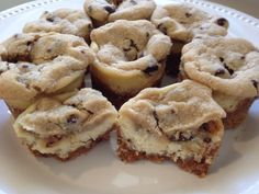 cream cheese cookie dough mini cheesecakes