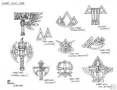 Dwarf symbols