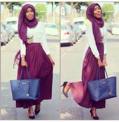 @basma_k, hijabista,  pict via her instagram http://instagram.com/p/pt3iIzhDlC/