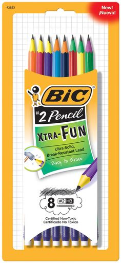 Target: BIC Stationery Products on sale = Xtra-Fun Pencils for $0.18 per package + MORE! - http://www.couponaholic.net/2016/01/target-bic-stationery-products-on-sale-xtra-fun-pencils-for-0-18-per-package-more/