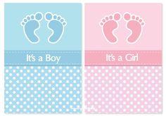 invitaciones de baby shower Baby Shower Cards, Baby Cards, Bebe Vector, Baby Shower Invitaciones, Baby G, Gender Reveal, Boy Or Girl, Happy Birthday, Paper Crafts