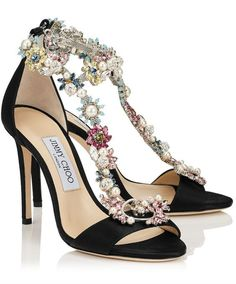 Featured Shoes: Jimmy Choo; Fashionable shoes inspiration.