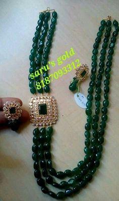Choosing The Cut of A Diamond Gold Jewellery Design, Bead Jewellery, Beaded Jewelry, Jewelry Necklaces, Beaded Necklace Patterns, Jewelry Patterns, Necklace Designs, Jewelry Ideas, Emerald Jewelry