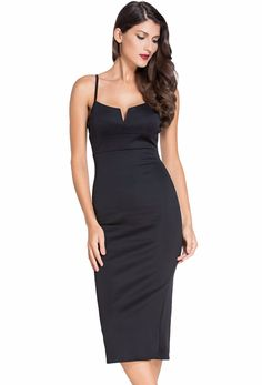 Aliexpress.com : Buy Women's Sleeveless Plunging V Neck Cocktail Bodycon Dress from Reliable dress africa suppliers on SheinStore Women's Fashion