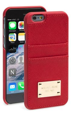Michael Kors iPhone case and card holder http://rstyle.me/n/wv685r9te