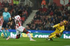 Bony back among the goals in Stoke win   Stoke-on-Trent (United Kingdom) (AFP)  Ivory Coast striker Wilfried Bony ended a 10-month goal drought with a brace against former club Swansea City as Stoke Citys revival continued with a 3-1 win in Mondays Premier League clash.  Both goals for the 27-year-old Manchester City loanee were set up by another former Swansea favourite Joe Allen with Alfie Mawson also putting through his own net as Stoke claimed a third win on the bounce.  Swansea who had…