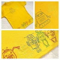 Handmade personalised t shirts at jellibabies personalised baby and childrens clothes and accessories Berkshire UK