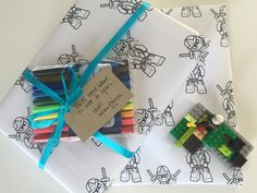 Lego, Gift Wrapping, Gifts, Gift Wrapping Paper, Presents, Wrapping Gifts, Legos, Favors, Wrap Gifts
