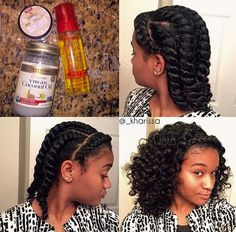 15 Easy Protective Styles You Can Do Even If You Suck At Hair | Hair ...