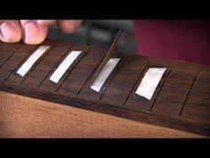 How to color epoxy for guitar inlays - schnitzen - Welcome Haar Design
