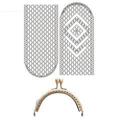 Picado y boquilla para funda de gafas de bolillos | Tienda de bolillos