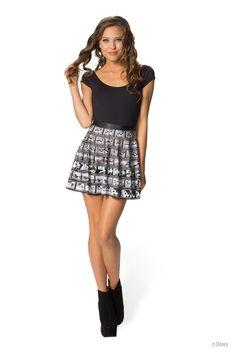 Mickey Zoetrope Skater Skirt - LIMITED – Black Milk Clothing