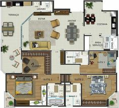 Let's face it. I'm addicted to floor plans!