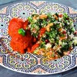 Arab húsgolyók és Krémes francia tabulé