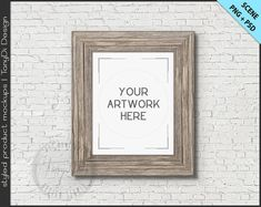 517c4e83afb 8x10 Blank Portrait Landscape Frame Mockup Bundle