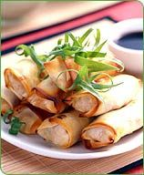 Weight Watchers Vegetable Egg Rolls  Serving Size: 1 egg roll  Points Plus Value: 2