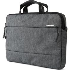 a71cb043f8 The Incase City Laptop Brief carries your MacBook Pro and other essentials  in style and comfort with their urban-pro shoulder bag.