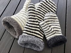 LUFFE - warm double mittens for the whole family