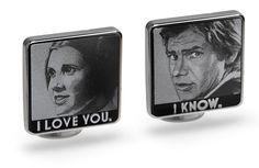 Star Wars I Love You / I Know Cufflinks