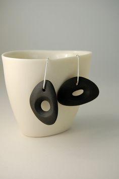 I love these ceramic earrings from artist Yasha Butler in Barcelona.