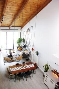 Huis in Hollywood met stunning houten plafond