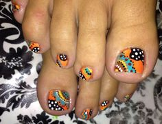 Fall nail art- i don't know if i have the skills but omg i want to try this!