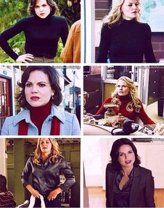 Awesome Regina and Emma (Lana and Jen) Once S2
