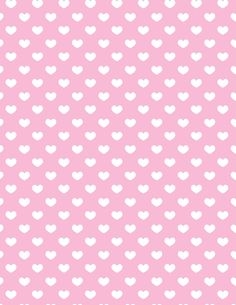 Baby pink with white hearts paper. Printable image for scrapbooking, wrapping paper, crafts, etc. (I'm not having much luck navigating the site, but that may be because I haven't signed up.)