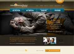 Nice! Union Rescue Mission Website
