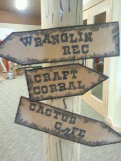 Wild West Signs...