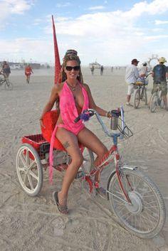 Gotta Have A Bike At Burning Man