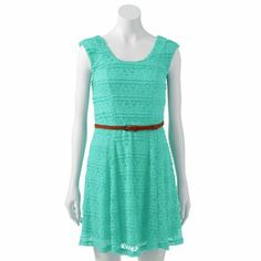 For Heather :) Trixxi Lace Skater Dress - Juniors