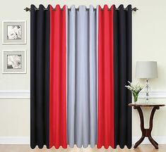 DESIGN FULLY LINED EYELET CURTAINS. FABULOUS CONTEMPORARY CURTAINS WITH A. TRANSFORM YOUR ROOM INTO A MODERN CONTEMPORARY HAVEN. PAIR OF 3 TONE PANEL. UNIQUE 3 TONE DESIGN IN. VERY MODERN AND STYLISH.