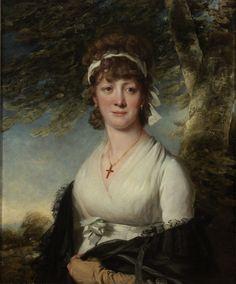 Portrait of a Lady John Hoppner English, 1758-1810 Portrait of a Lady, ca. 1795 Oil on canvas 76.011
