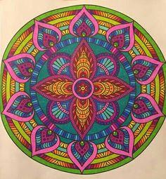 Mandala klaar