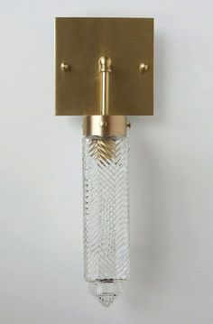 DSHOP CHRYSLER SCONCE - SQUARE by Michelle James. http://shop.thedpages.com/products/chrysler-sconce-square