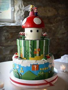 Coolest Video Game Inspired Cakes